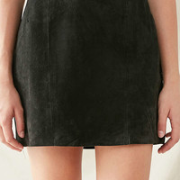 Vintage Suede Mini Skirt | Urban Outfitters
