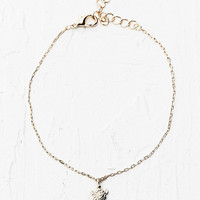 Tiny Turtle Bracelet in Gold - Urban Outfitters