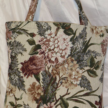 Aldi Grocery Bags~Earth Friendly~Green~Enviromentaly Friendly~Recycled~Shopping Tote~Market Bag~Tapestry~Tosca~Chintz