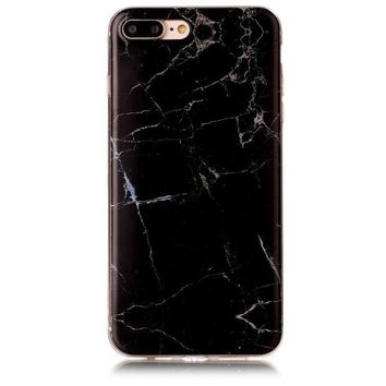 VONEXO9 iPhone 7 plus 5.5Inch Case, Iessvi Stylish Color Marble Printing TPU Silicone Soft Cover Shell for iPhone 7 plus
