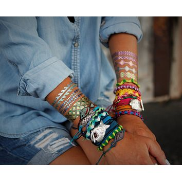 Fish Boho Wrap Design Bracelet