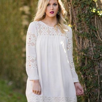 Boardwalks and Beaches Lace Dress