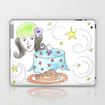 fortune teller Laptop & iPad Skin by Jenn Ross76