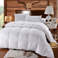 Royal Hotel All Season Down Alternative Full/Queen Comforter, White