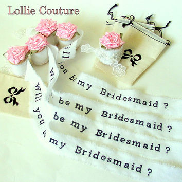 Bridesmaid invitations - be my Bridesmaid - Unique Invites Cards