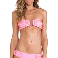 BEACH RIOT Cash Top in Pink