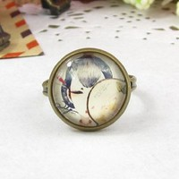 Amazon.com: Classic Color Ring Strongly Individualizes Chinese Lady Ring: Everything Else