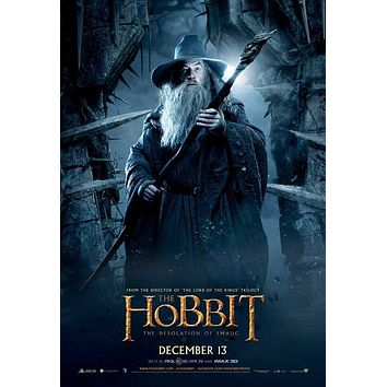 The Hobbit: The Desolation of Smaug 27x40 Movie Poster (2013)