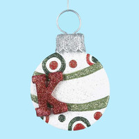 "3 Disk Ornaments - 5.25 "" H(133mm)"