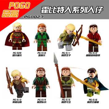 The Hobbit The Lord Of The Rings Minifigures Gandalf Isildur Sauron Legolas Greenleaf Blocks Models & Building Toys