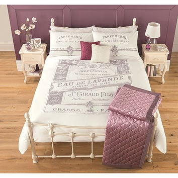 George Home Perfume Label Duvet Range | Bedding | ASDA direct