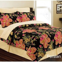 Persian Floral 8pc Bed in a Bag - Available in Queen or King Size