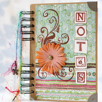 OOAK Notes Notebook/Journal By TLS  on Luulla
