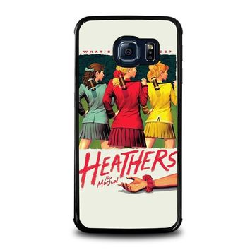 heathers broadway musical samsung galaxy s6 edge case cover  number 1