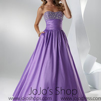 Purple Graduation Ball Gown Sweet Sixteen Dress HB2030C