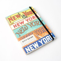 New York City Guide Notebook by Cavallini & Co.
