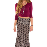 Merida Aztec Maxi Skirt