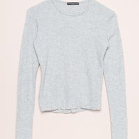 Leah Thermal Top- Sept - Tops - Clothing