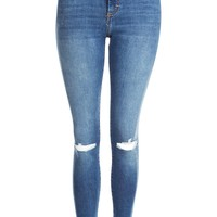 MOTO Blue Ripped Sidney Jeans