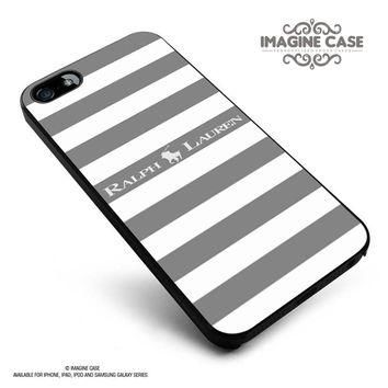 Polo Ralph Lauren Black White Stripes case cover for iphone, ipod, ipad and galaxy ser