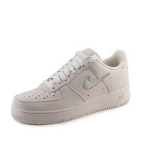 "Nike Mens Air Force 1 Retro PRM ""Jewel Pack"" Sail 941912-100 Size 13"