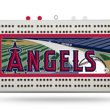 ANAHEIM ANGELS CRIBBAGE BOARD
