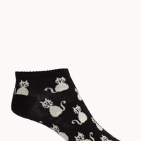 Kitten Ankle Socks