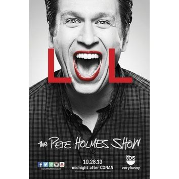 Pete Holmes Show poster Metal Sign Wall Art 8in x 12in