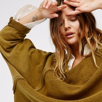 Free People East Meets West Pullover