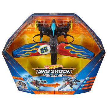Hot Wheels Sky Shock Remote Control Vehicle - Flame Design
