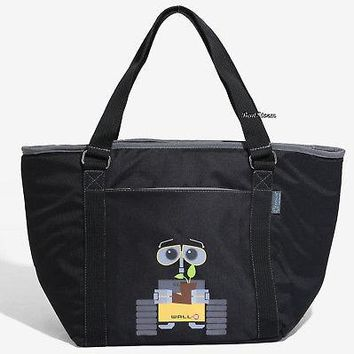 Licensed cool Disney Pixar WALL-E Robot Beach Cooler Large Shoulder Tote Bag Drink Holder NWT
