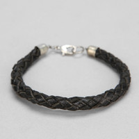 Classic Leather Braided Bracelet - Urban Outfitters