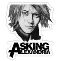 Ben Bruce Asking Alexandria Drawing Tee