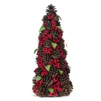 Threshold™ Pinecone and Berry Christmas Tree Decoration - 15.75""