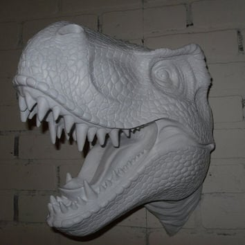 Faux Taxidermy / Faux T-Rex / Dinosaur / Boys Room Decor