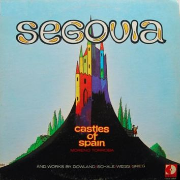 Castles Of Spain - Andrés Segovia, LP (Pre-Owned)