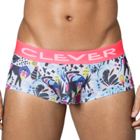 Clever 2342 Jungle City Latin Boxer Briefs White