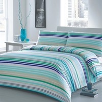 Horizontal Stripe Duvet Cover Set - Bed Bath & Beyond