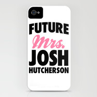 Future Mrs. Josh Hutcherson iPhone & iPod Case by LookHUMAN