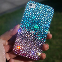 Original Handmade Gradient The Shining Rhinestone Bling Bling Phone Case