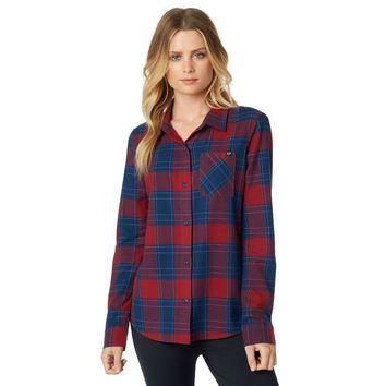 Women's Kick It Flannel