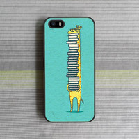 iPhone 5S Case , iPhone 5C Case , iPhone 5 Case , iPhone 4S Case , iPhone 4 Case , Reading giraffe
