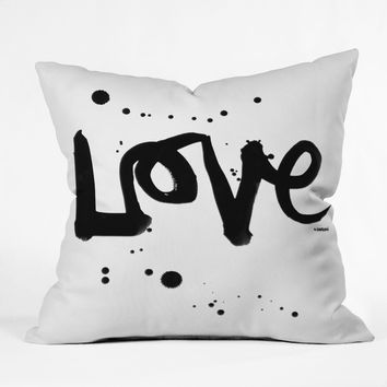 Kal Barteski Love 1 Throw Pillow