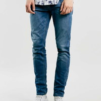Mid Wash Stretch Skinny Jeans - Stretch Skinny Jeans - Men's Jeans - Clothing