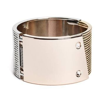 Multi-Tone Hinge Cuff at Guess