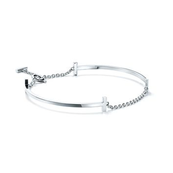 Tiffany & Co. - Tiffany T:Double Smile Bracelet