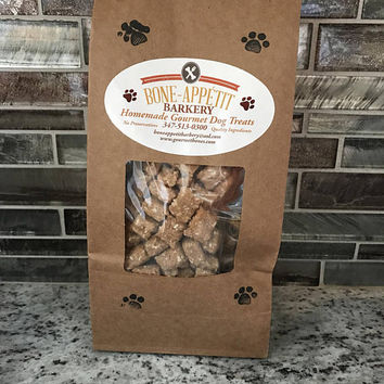 Organic Gluten & Grain Free Small Training Treats Sampler pack BAKED to ORDER Dog Treats -  Quality Ingredients All natural