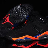"Nike Air Jordan 6 VI Retro ""Knicks"" 3M Men Women Sneaker Shoe Size US 5.5-13"
