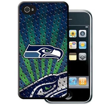 CREYHJ2 Iphone 44S Hard Cover Case - Seattle Seahawks