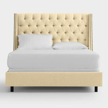 Linen Kellerman Upholstered Bed